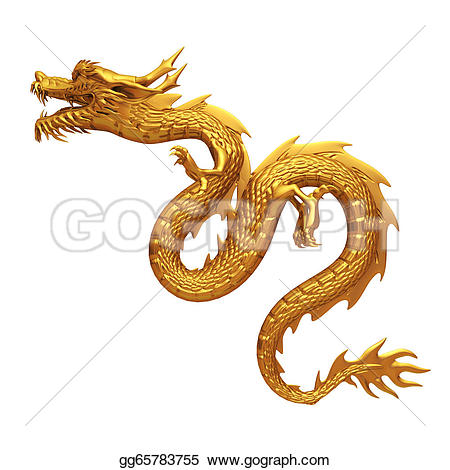 China clipart golden dragon Clipart Drawing chinese chinese Drawing