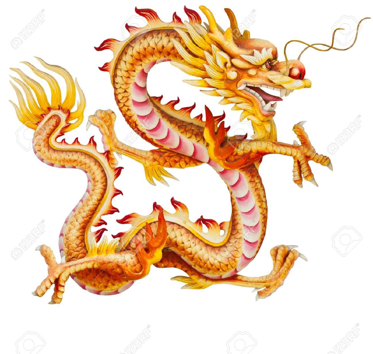 China clipart golden dragon Dragon Art Chinese Dragon Art