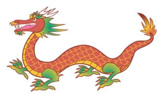 Chinese Dragon clipart #1