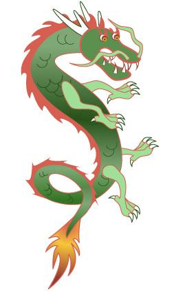 Chinese Dragon clipart #10