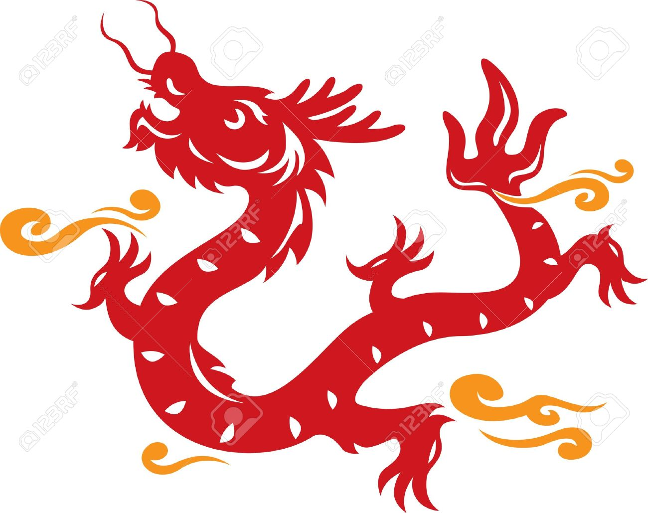 Chinese Dragon clipart #3
