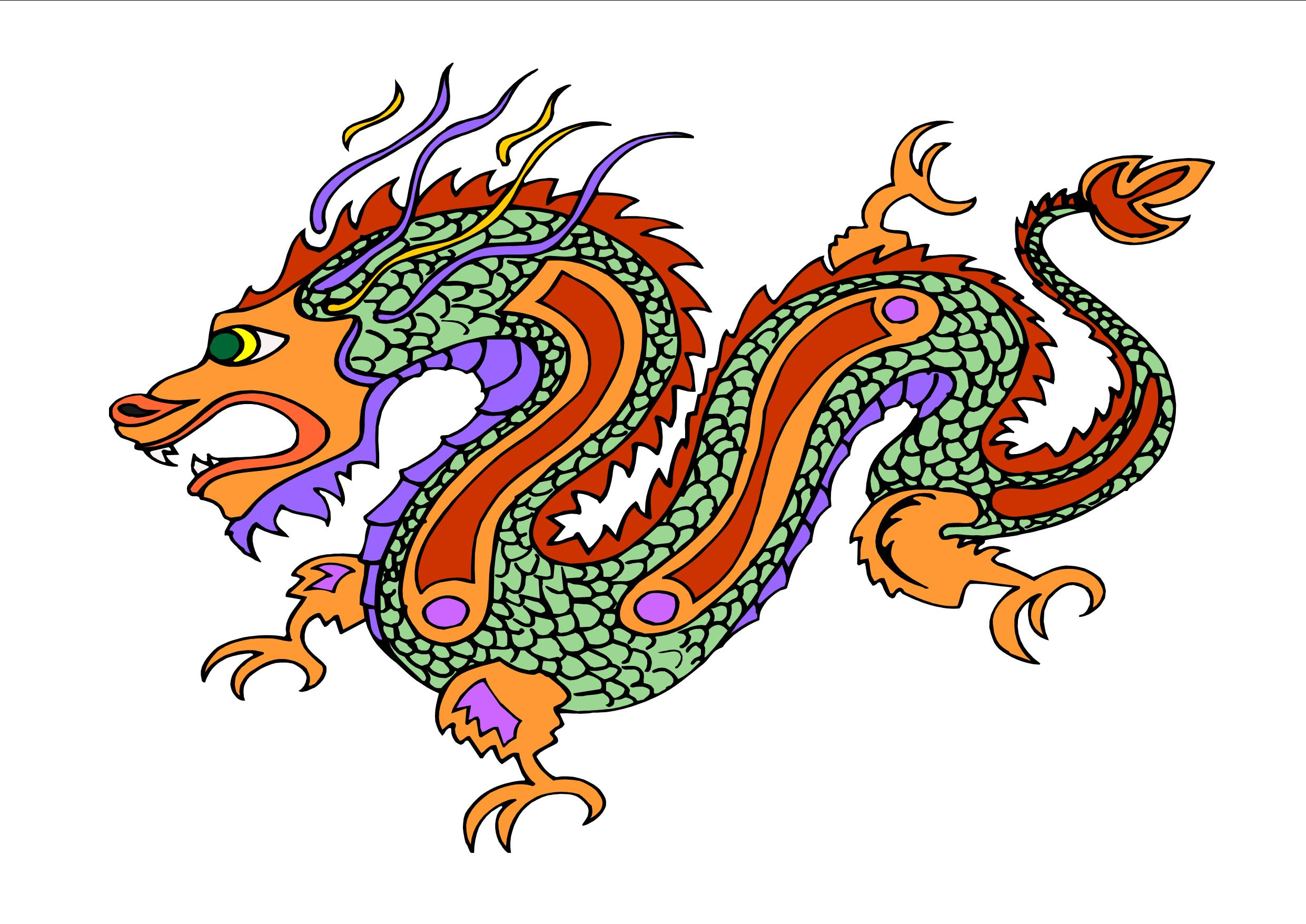 Chinese Dragon clipart #14