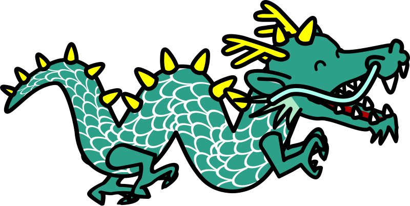 Chinese Dragon clipart #6