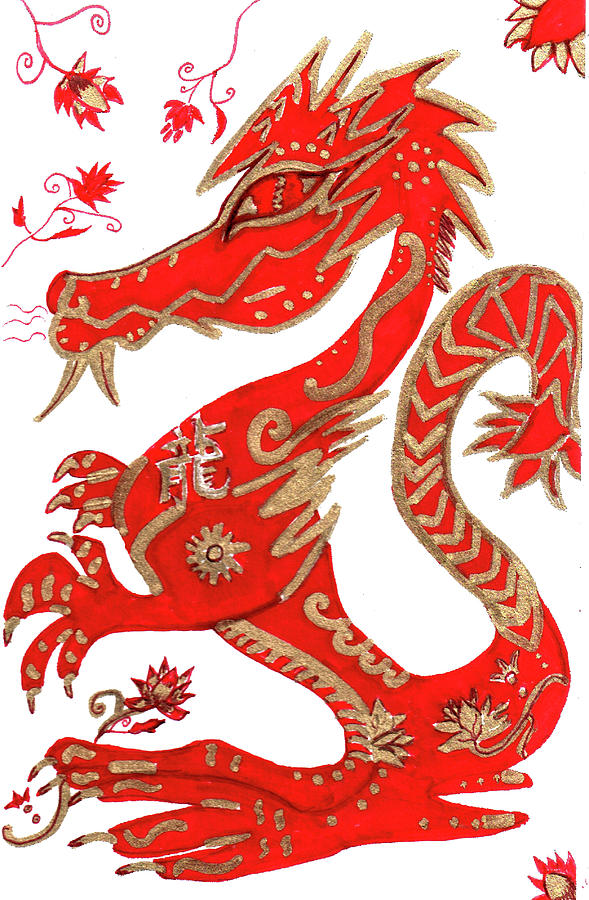 Chinese Dragon clipart chinese astrology Barbara Dragon by Dragon Year