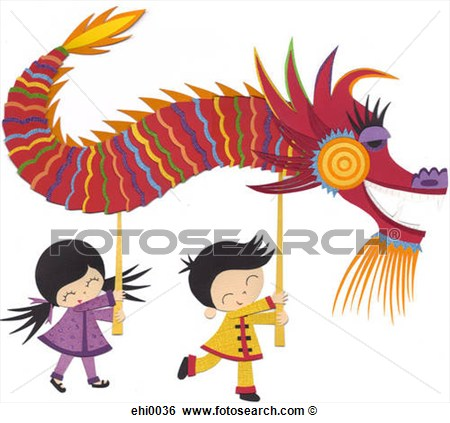 Chinese Dragon clipart chinese new year celebration Chinese Collection year clipart free