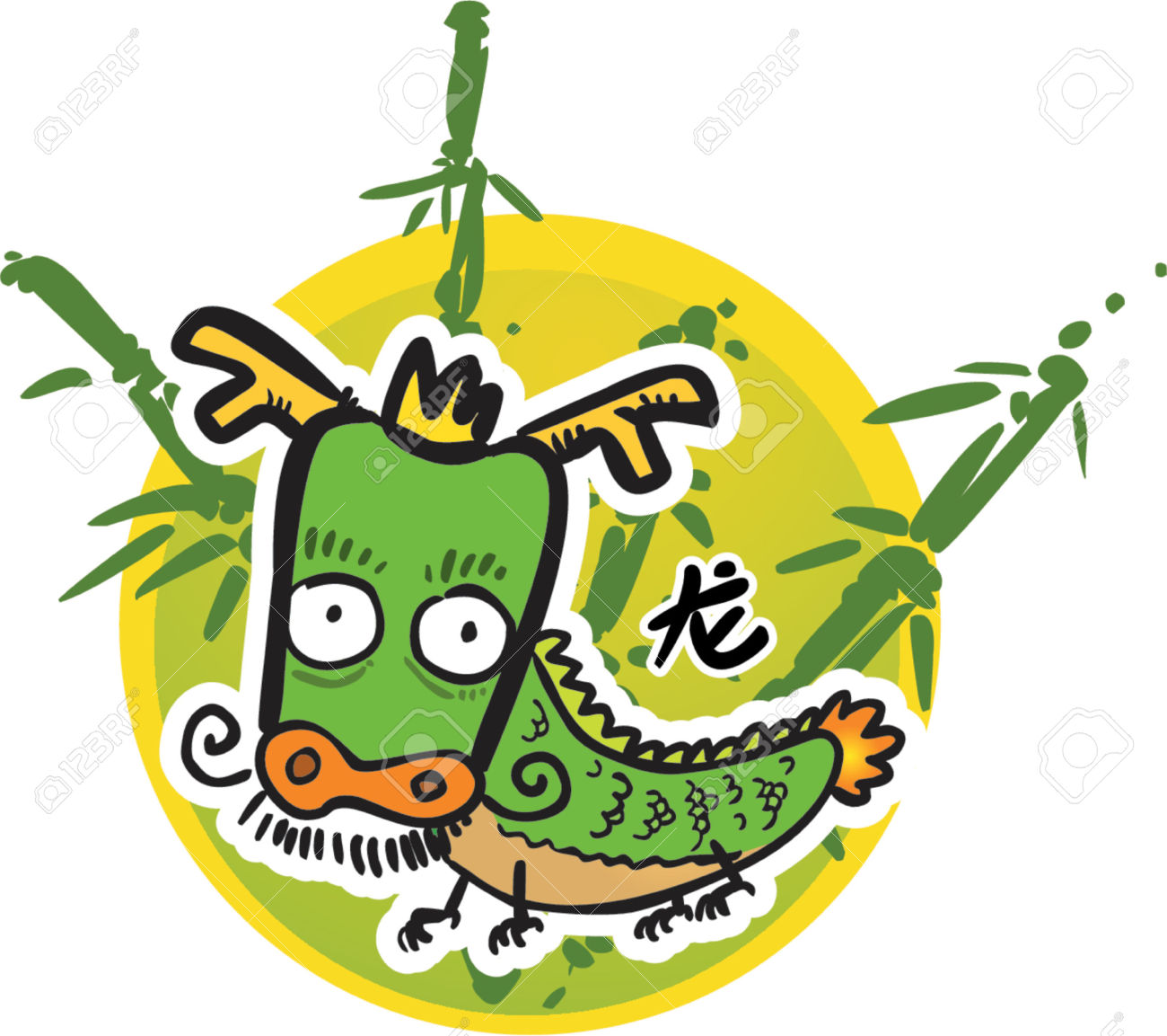 Chinese Dragon clipart chinese zodiac For  (Vector) clipart chinese