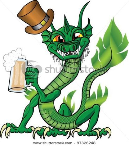 Chinese Dragon clipart irish Images Patrick's Day on by