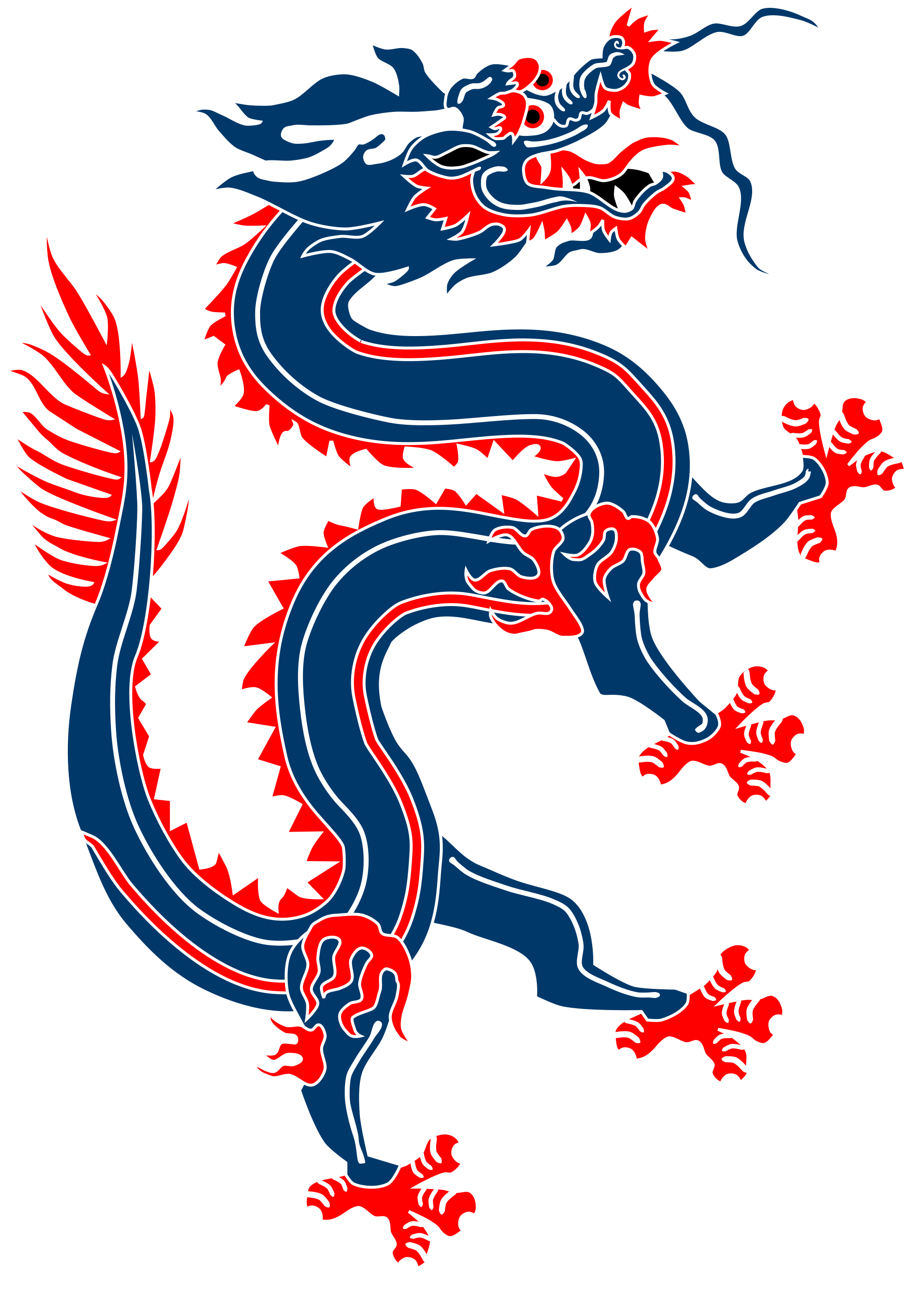 Chinese Dragon clipart transparent Banner Open from Commons Chinese