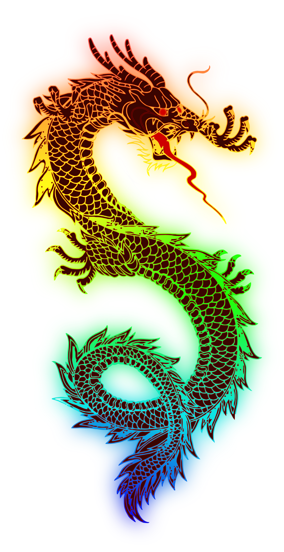 Chinese Dragon clipart transparent Chinese Chinese Free Art Transparent