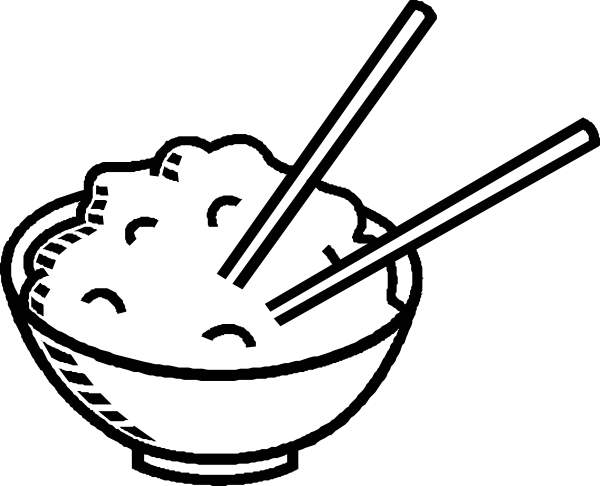 Bowl clipart chicken and rice #3