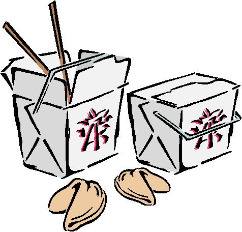 Chinese Food clipart box drawing Clipart box clipart takeout takeout