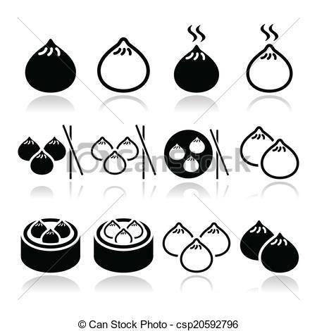 Dumpling clipart chinese dumpling Dumplings in  food Asian