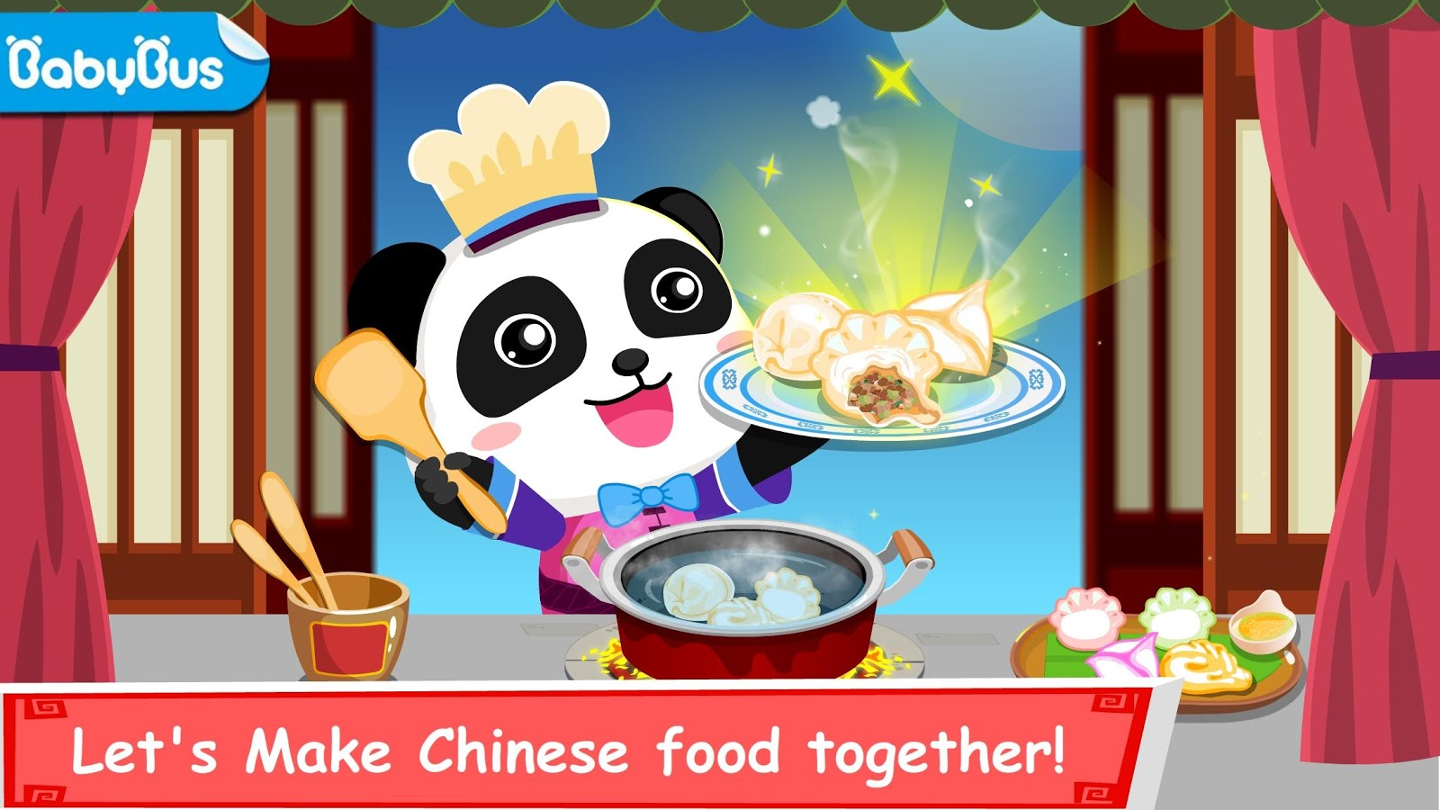 Chinese Food clipart cute panda Android for screenshot on Game