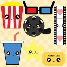 Chinese Food clipart cute panda Food and Clip Popcorn Fast