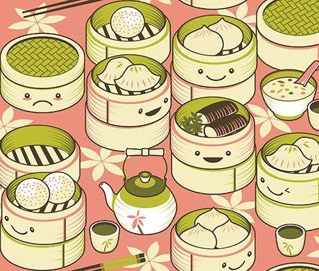 Dumpling clipart chinese dumpling Pinterest on sum 39 illustration