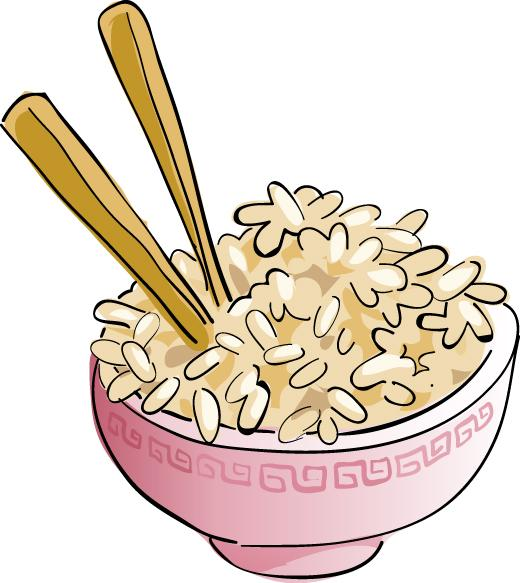 Bowl clipart chicken and rice #1