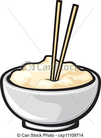Bowl clipart chinese food Chinese food Vector chopsticks (white