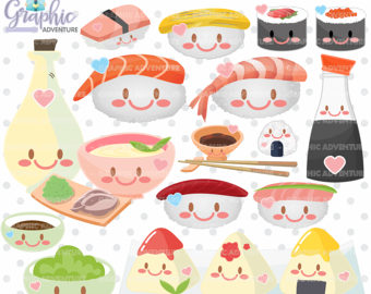 Sushi clipart china food Sushi clipart Graphics 75%OFF Clipart