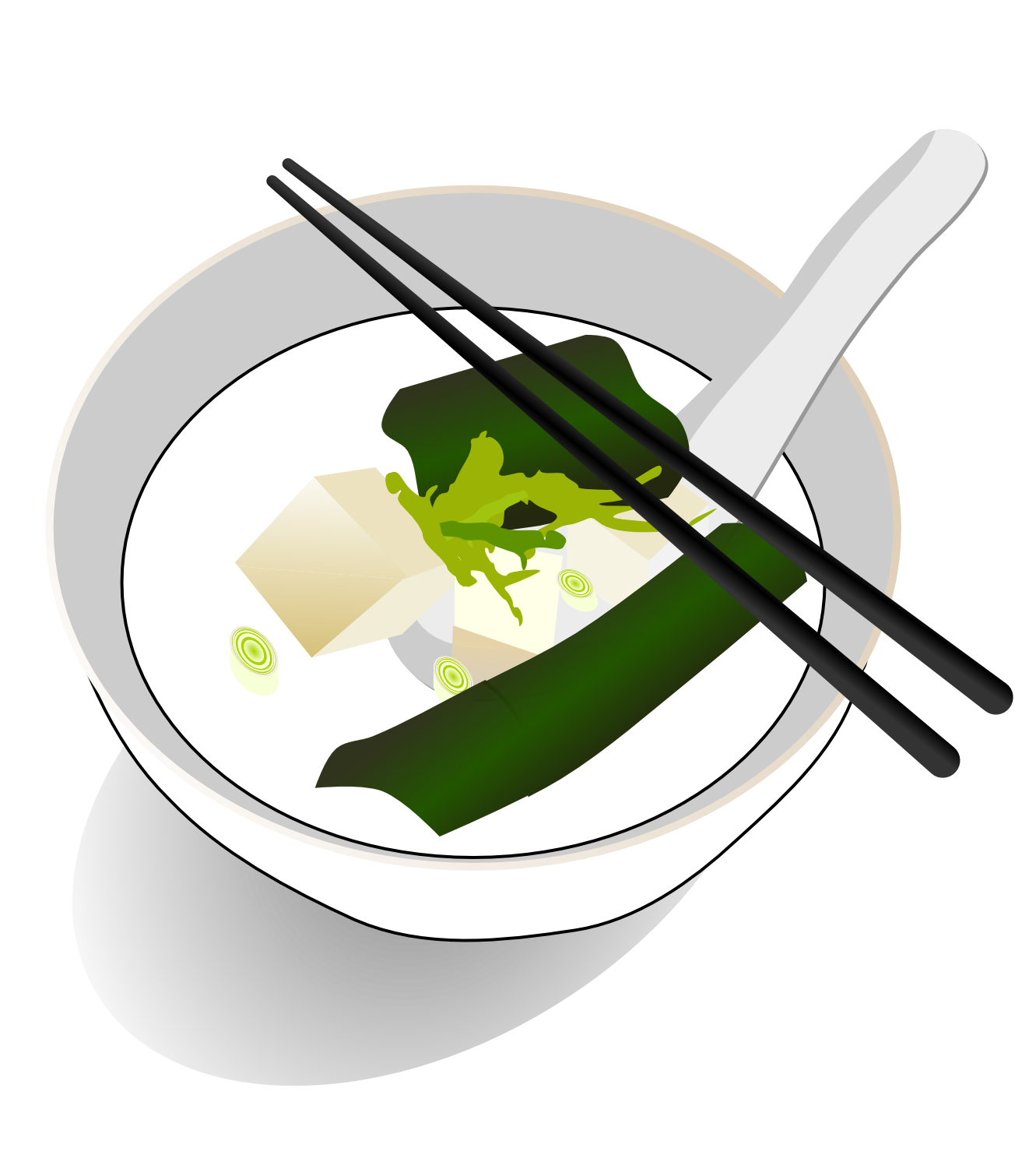 Soup clipart chinese To – pin on black