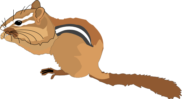 Chipmunk clipart Chipmunk Chipmunk Clipart Eating Free