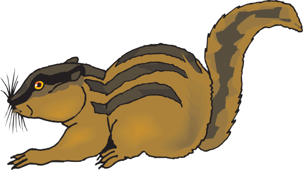Chipmunk clipart Striped Chipmunk Clipart Chipmunk Free