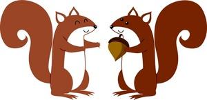 Acorn clipart chipmunk Chipmunk clipart art squirrel clip