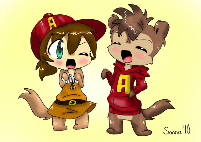 Chipmunk clipart cute By Chibi DeviantArt TheChipMunksFan XD