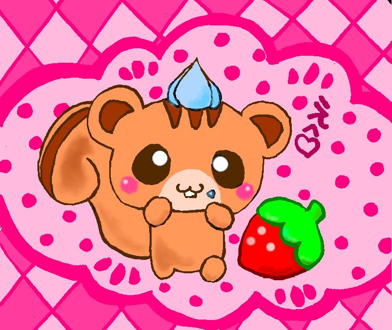 Chipmunk clipart cute LawlietkunLives Chibi Chibi LawlietkunLives by