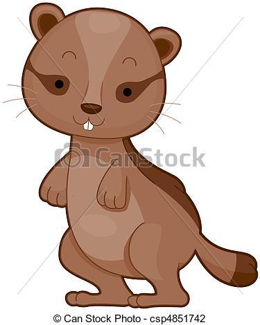 Chipmunk clipart cute Chipmunk Clip clipart Illustration Cute