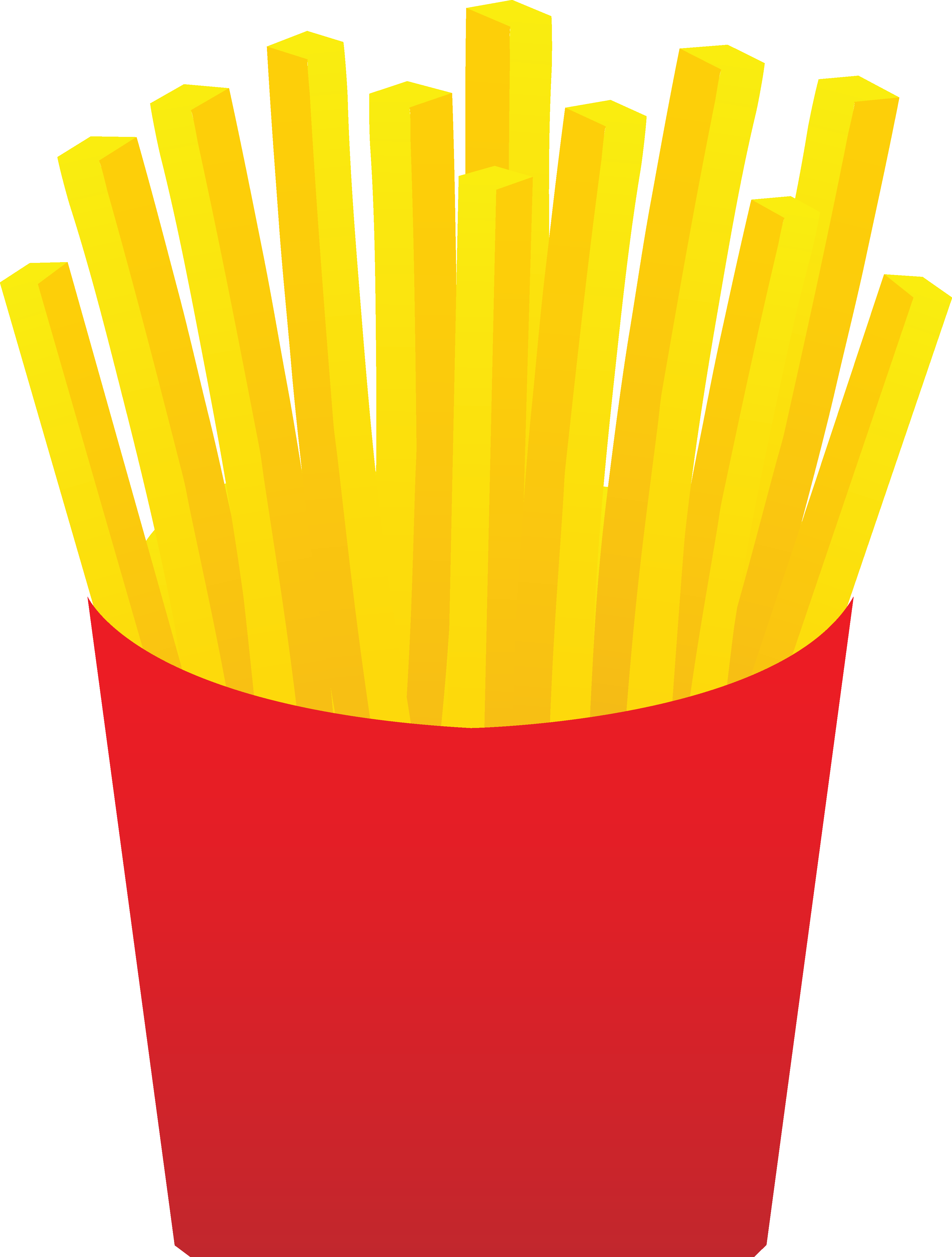 French Fries clipart crinkle cut Clip Clip Art Art Chips