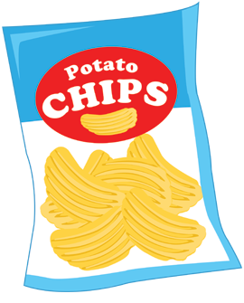 Potato Chips clipart one Art Clipart Clip Savoronmorehead chips