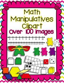 Shapes clipart math manipulative #9