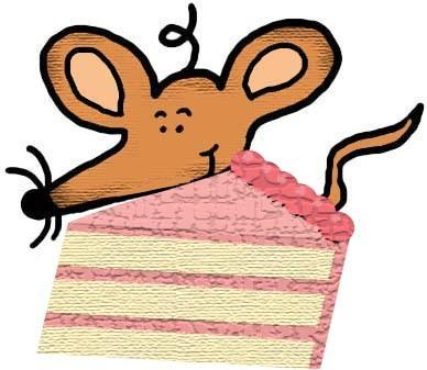 Popcorn clipart chip Cake Chip Mouse With Cookie