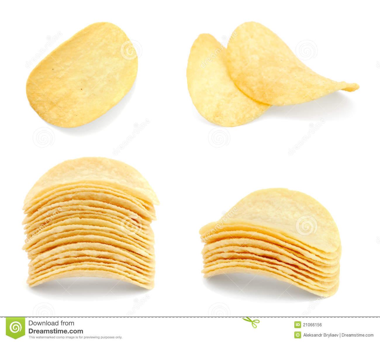 Potato Chips clipart pringles Single chips single clipart potato