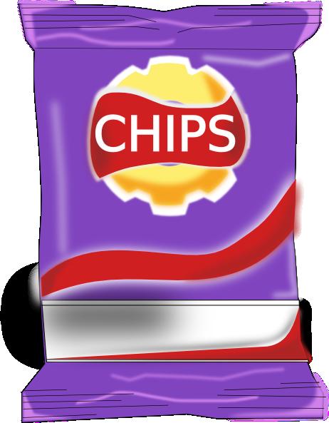 Potato Chips clipart packet crisp Packet public art online clip