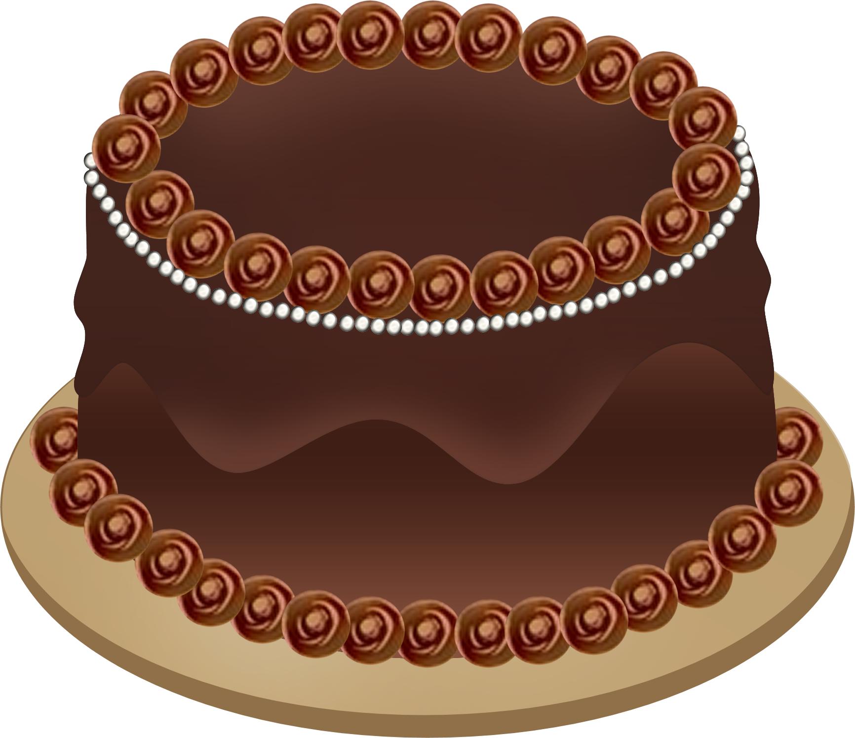 Sponge Cake clipart cartoon Black Chocolate cake cake clipart