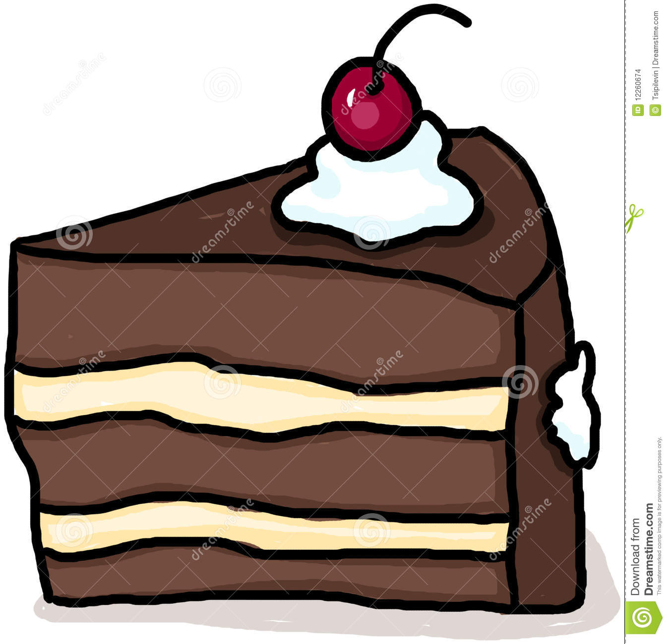 Drawn cake pastry Panda Clipart Clipart Images Cake