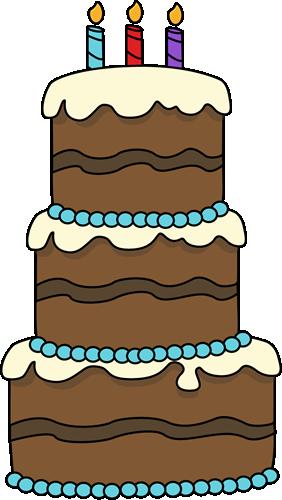 Drawn cake cherry Clipart collection cake Chocolate Birthday