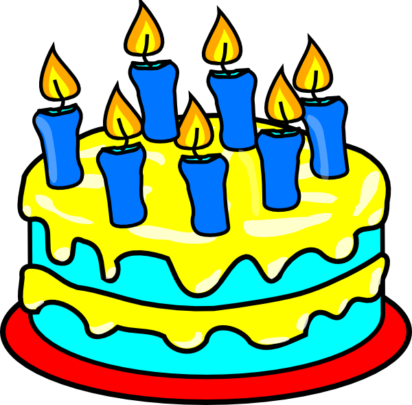 Pastry clipart candle Cake Cakes Simple Tosca Birthday