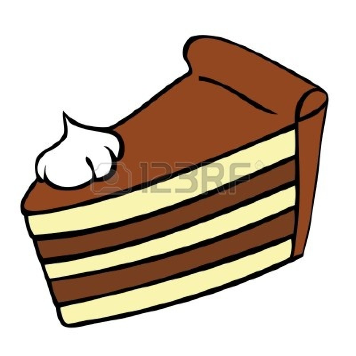 Pice clipart cake Chocolate Images Clipart Clipart Cake