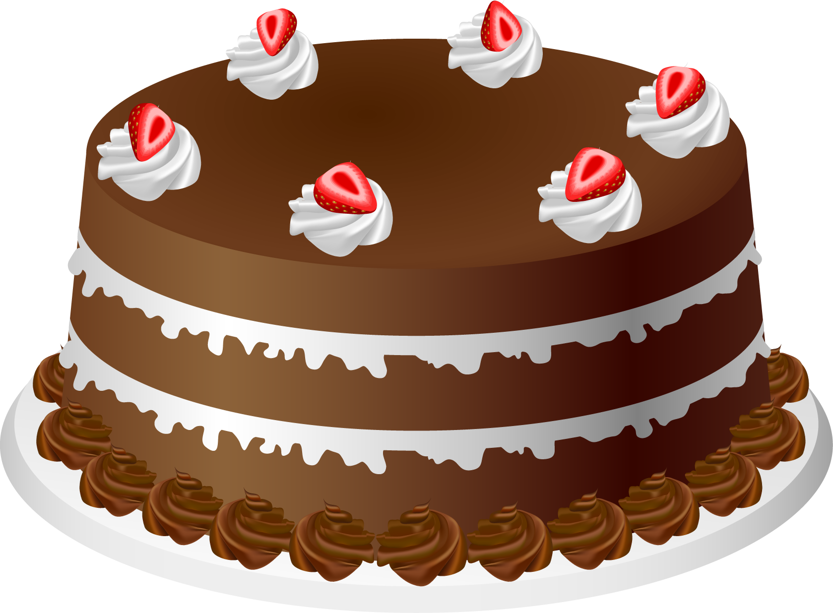 Pastry clipart piece chocolate cake Clipart Clipart German Cake Chocolate