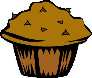 Muffin clipart plain Clip Clip vector at Muffin