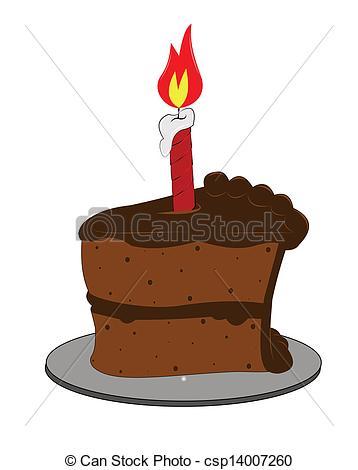 Chocolate clipart piece chocolate cake With Clip Art piece cake