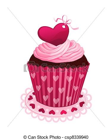 Drawn cupcake silhouette Clipart with cupcake cupcake day