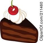 Chocolate clipart piece chocolate cake Cake Clipart Chocolate Chocolate Cake