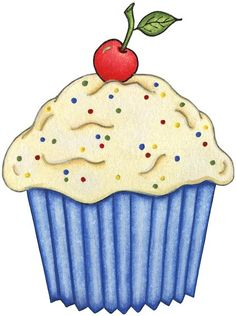 Vanilla Cupcake clipart 1st Mini Planner Clipart PNG Cake