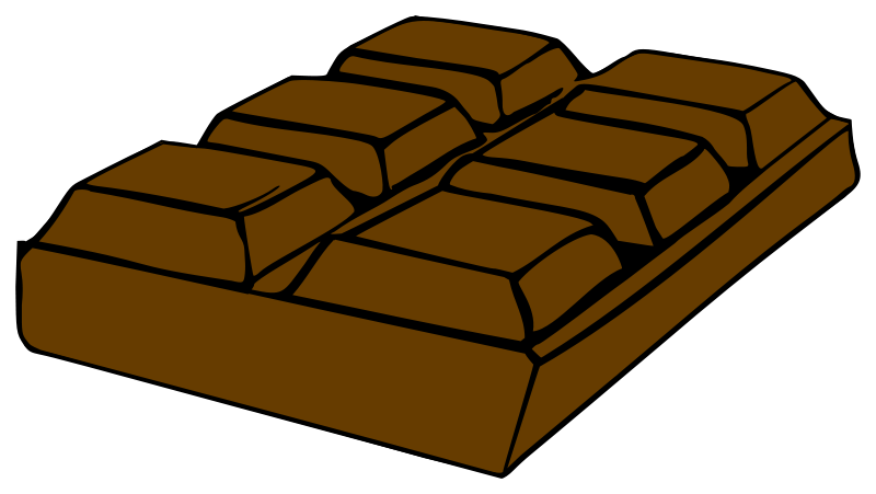 Chocolate clipart #1