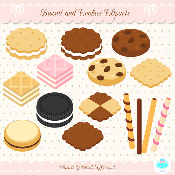 Chocolate clipart bakery food And and clipart Cookies made