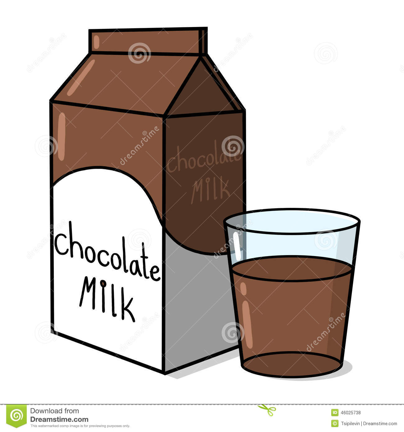 Chocolate clipart chocolate milk Milk Jug Jug Milk Clipart