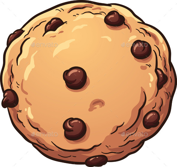 Chocolate clipart round object Cookie Objects memoangeles Chip Chip